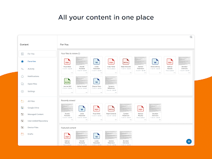 Content - Workspace ONE