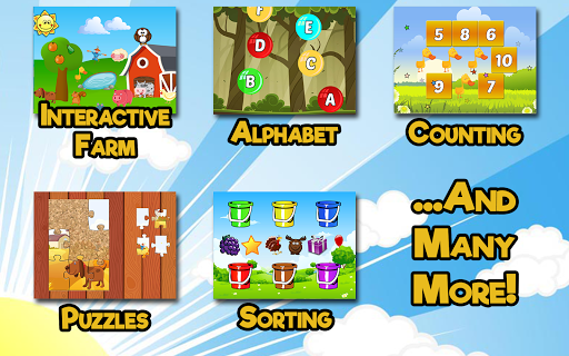 Barnyard Games For Kids 6.8 screenshots 2