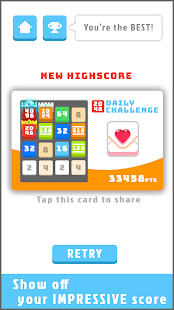 2048 Daily Challenges - Best pastime & brain game Screenshot