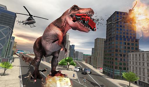 Monster Dino Vs King Kong-City Rampage Simulator 1.0.3 screenshots 18