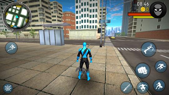 POWER SPIDER v3.1 MOD APK – Ultra Superhero Parody Game 4