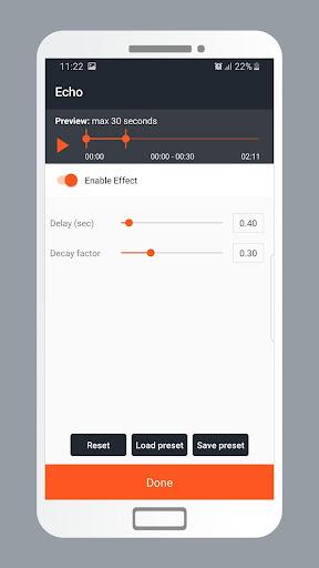 Echo Sound Effects for Audio  Screenshots 4