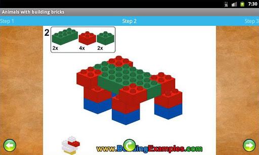 Animals with building bricks  screenshots 5