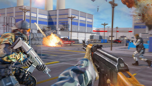 Real Commando Combat Shooter : Action Games Free android2mod screenshots 14
