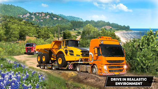 Future Truck Simulator : Hill Transport Driver  screenshots 4