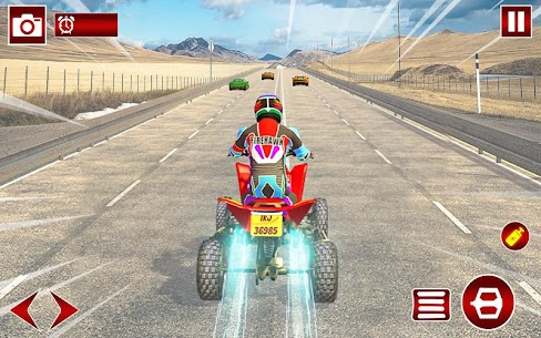 Quad ATV Traffic Racer 4