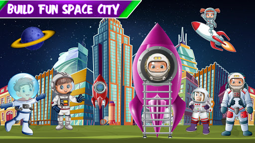 Build a Space City : Construction Game 1.3 screenshots 1