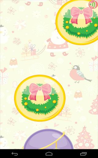 christmas balloon pop screenshot 2