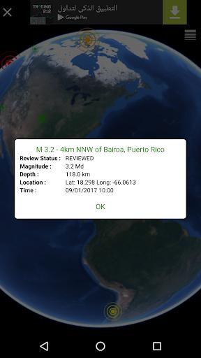Quake & Volcanoes: 3D Globe of Volcanic Eruptions  Screenshots 8