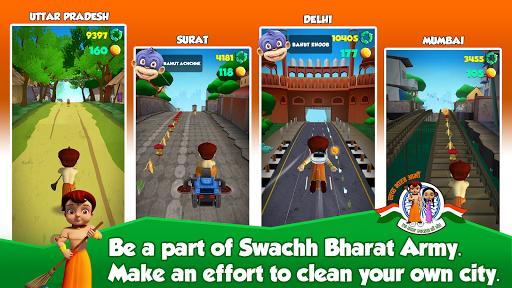 Chhota Bheem Run - Swachh Bharat Abhiyaan  screenshots 3