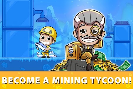 Idle Miner Tycoon: Mine & Money Clicker Management 3.56.0 (Mod Money)