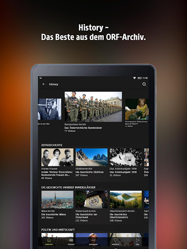 ORF TVthek: Video on demand android2mod screenshots 10