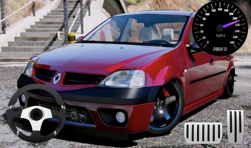 citizen car renault logan classic parking screenshot 2