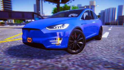 Electric Car Simulator: Tesla Driving 1.4 screenshots 13
