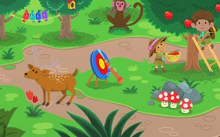 Kiddos in Camp - Free Educational Games for Kids