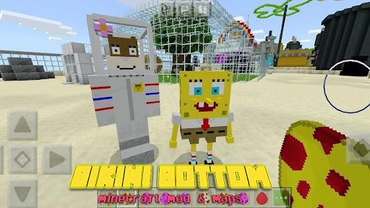 Mod Bikini Bottom Pineapple House For Minecraft PE 1