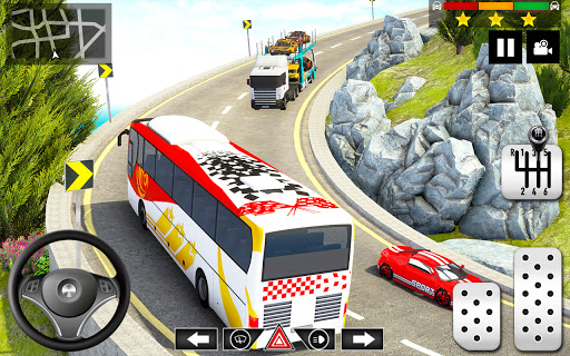 Mountain Bus Simulator 3D apktram screenshots 13