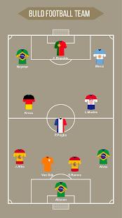 Football Squad Builder - Strategy, Tactic, Lineup 2.6.7 Screenshots 9