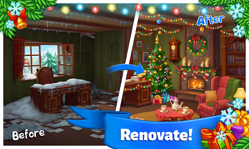Farm Snow: Happy Christmas Story With Toys & Santa 2.23 screenshots 1