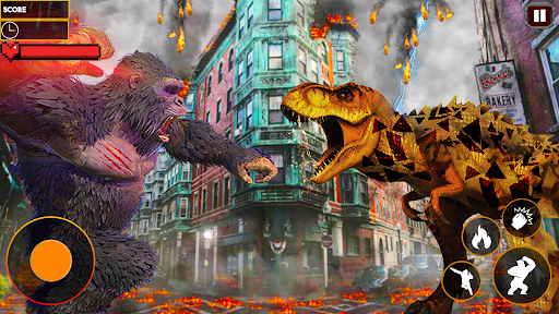 Godzilla Smash City: King Kong Games 2020 apkdebit screenshots 2