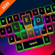 LED Lighting Keyboard - Emoji Keyboard, Fonts, GIF