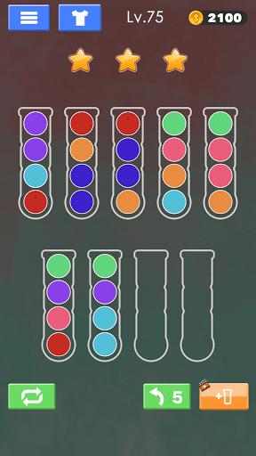Sort Color Ball Puzzle - Sort Ball - Sort Color  screenshots 2
