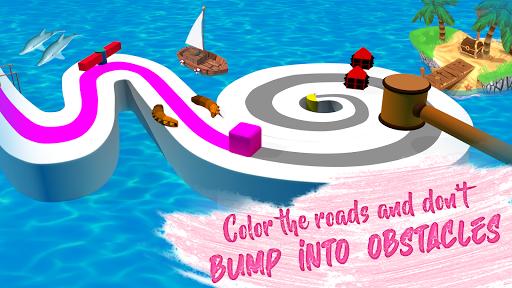 Line Color Game: 3D Adventure  screenshots 7