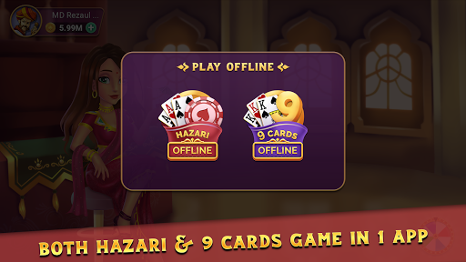 Hazari Gold & Nine Cards Offline download  2020 3.31 screenshots 2