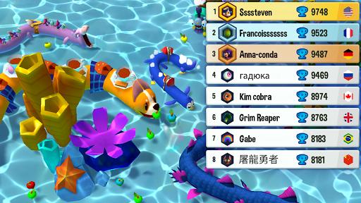 Snake Rivals - New Snake Games in 3D goodtube screenshots 12