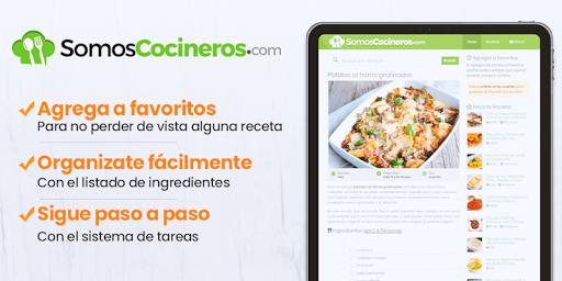 Recetas de cocina gratis - Somos Cocineros 1.3 Screenshots 8