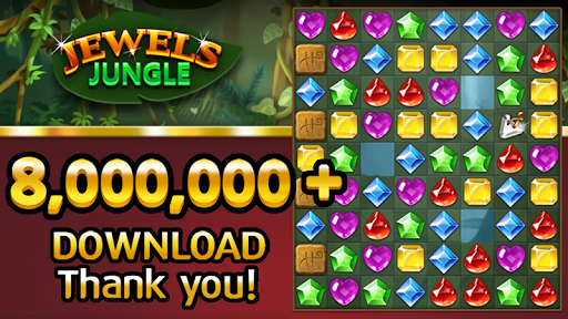 Jewels Jungle : Match 3 Puzzle 1.9.1 screenshots 1