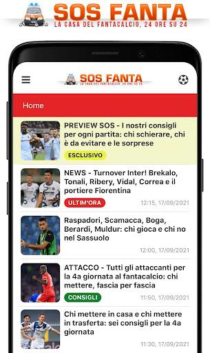 SOS Fanta - Fantacalcio apktram screenshots 1