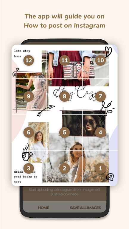 Puzzle Collage Template for Instagram - PuzzleStar  poster 6