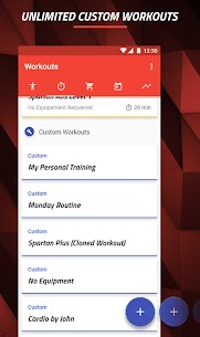 MMA Spartan System Home Workouts  Exercises Pro Apk Download 2021 5