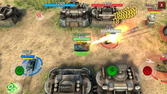Battle Tank2 APK MOD HACK (Monedas Ilimitadas) 2