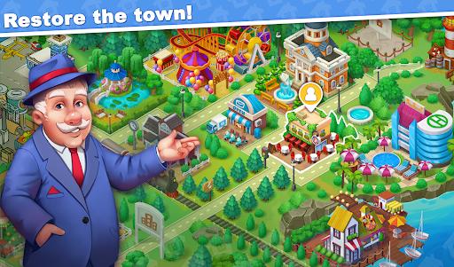 Town Blast: City Restoration - Blast Game & Puzzle  screenshots 6