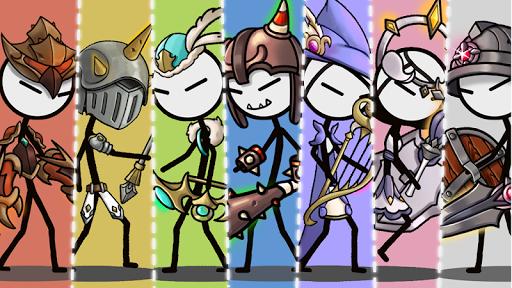 Legend of the cartoon - idle RPG 2.7 screenshots 1