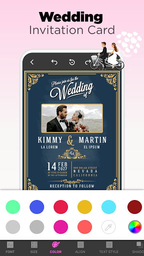 Invitation Maker Free - Birthday & Wedding Card apktram screenshots 18