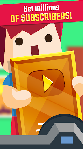 Vlogger Go Viral: Streamer Tuber Idle Life Games  screenshots 1