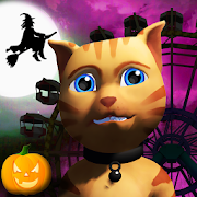 Halloween Cat Theme Park 3D