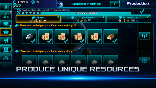 Idle Space Business Tycoon Apkfinish screenshots 5