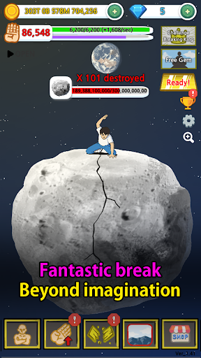 Tap Tap Breaking: Break Everything Clicker Game 1.77 Screenshots 6