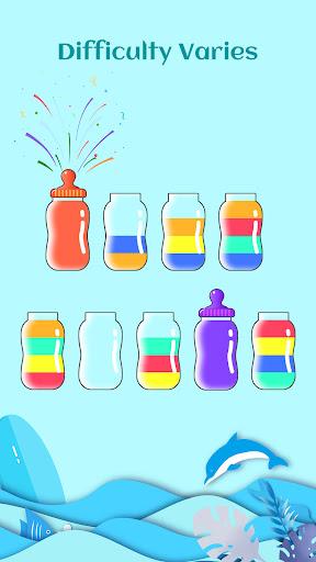 Water Sort Jigsaw: Coloring Water Sort Game  screenshots 4