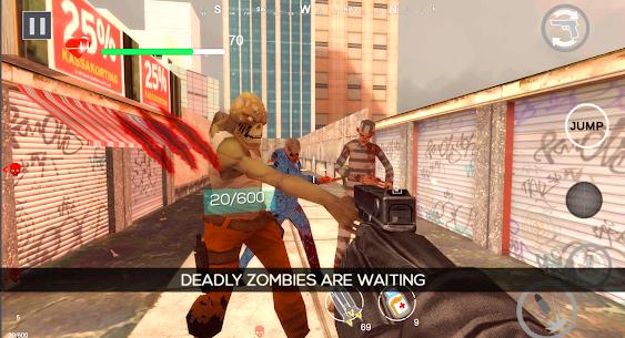Zombie Shooter Dead Terror Mod Apk (God Mode) 4