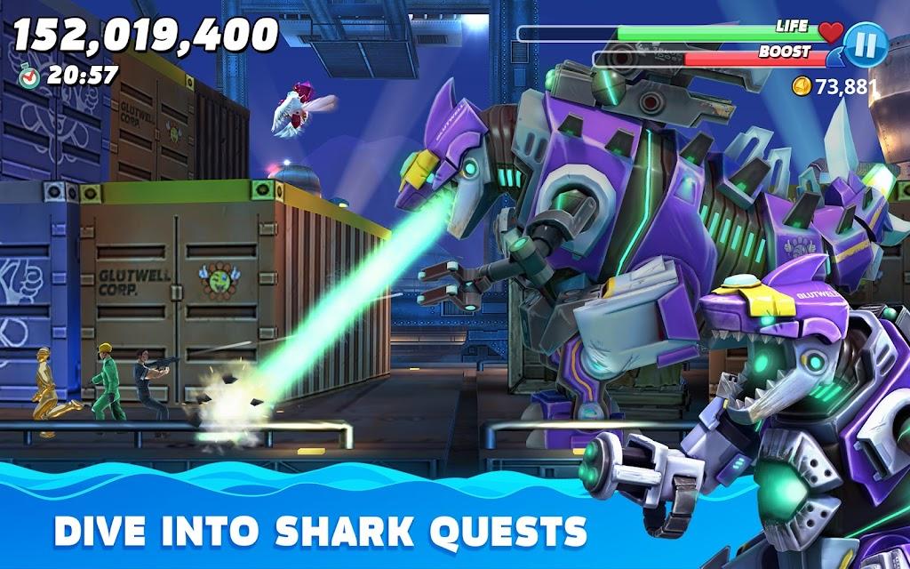Hungry Shark World poster 15