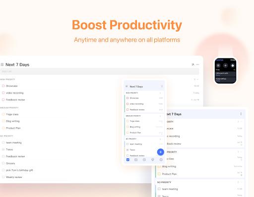 TickTick: ToDo List Planner, Reminder & Calendar Apkfinish screenshots 15