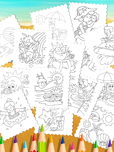 mandala season coloring book screenshot 2