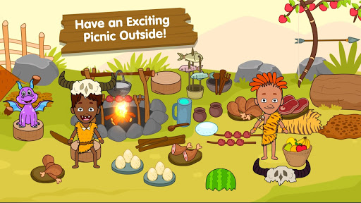 My Dinosaur Town - Jurassic Caveman Games for Kids 3.3 Screenshots 4