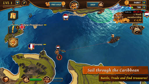 Ships of Battle - Age of Pirates - Warship Battle 2.6.28 Screenshots 8