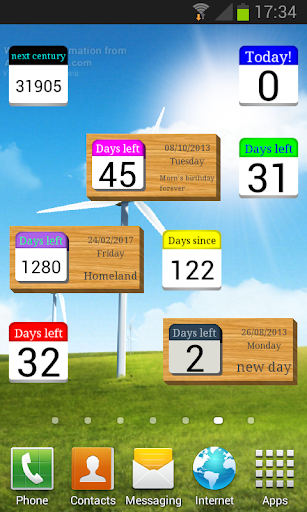 Days  Left (countdown timer) Apk 2